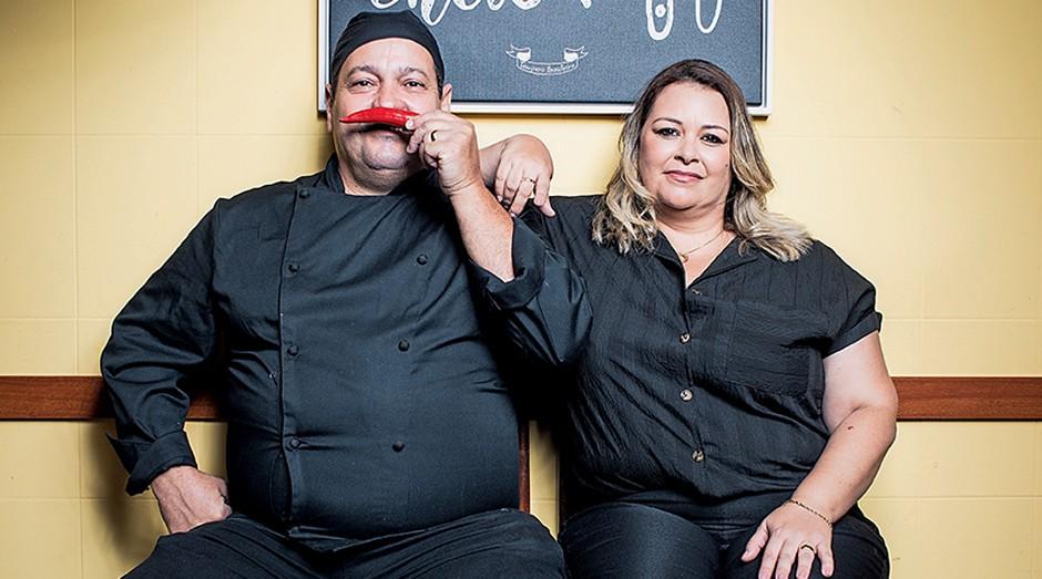 Robinson Carneiro e Viviane Calderone, do Tempero Brasileiro (Foto: Daryan Dornelles)