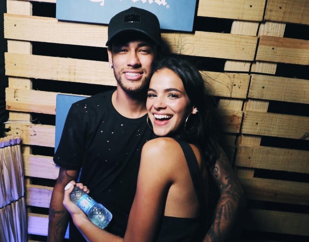 Neymar e Bruna Marquezine já prestigiaram as festas  (Foto: Raul Aragão  )