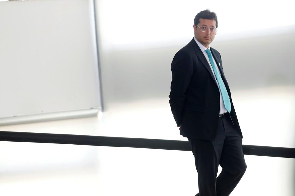 Fábio Wajngarten, ex-secretário de Comunicação do governo — Foto: Adriano Machado/Reuters