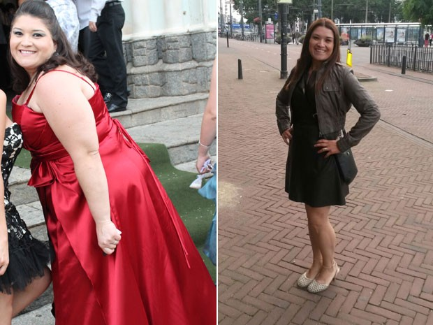 Erika Ribeiro Mattos emagreceu quase 50 kg depois de finalmente admitir que tinha um distúrbio alimentar (Foto: Arquivo pessoal/Érika Ribeiro Mattos)