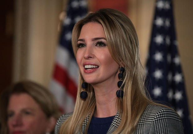 Ivanka Trump, filha e assessora do presidente americano, Donald Trump (Foto: Getty Images)