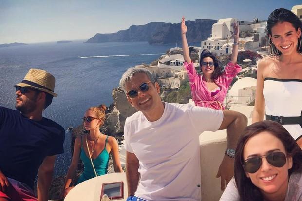Otaviano Costa comenta férias de Marina Ruy Barbosa e Bruna Marquezine (Foto: Reprodução/Instagram)