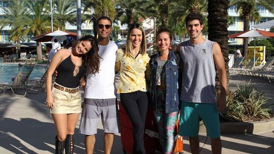 Laryssa Ayres e Sérgio Malheiros apresentam o Universal's Cabana Bay Beach Resort
