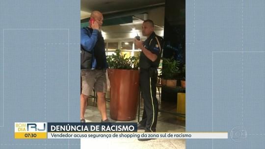 Impedido de sair de shopping no Rio, lojista denuncia racismo