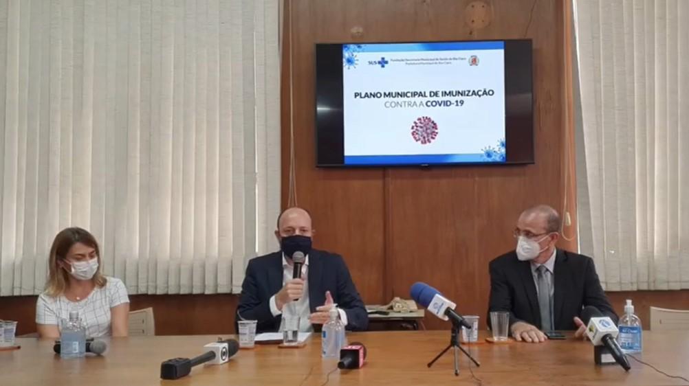 Rio Claro tem capacidade para vacinar 1,6 mil pessoas por dia contra Covid-19, diz prefeitura