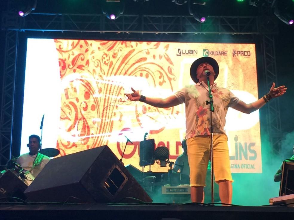 Geraldinho Lins está na programação dos festejos juninos do Recife, em 2018 (Foto: Thays Estarque/G1)