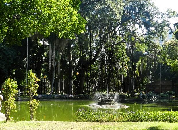 Parque da Luz (Foto: Reprodução/checkinsp)