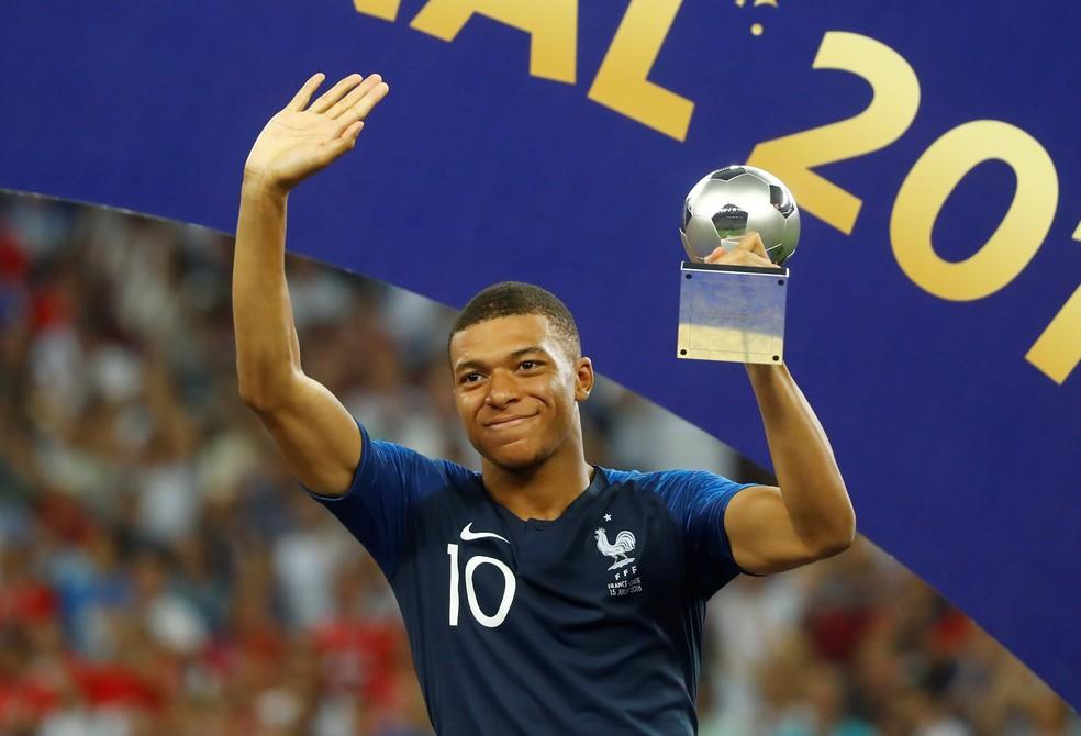 Mbappé é eleito revelação da Copa pela França (Foto: Kai Pfaffenbach/Reuters)