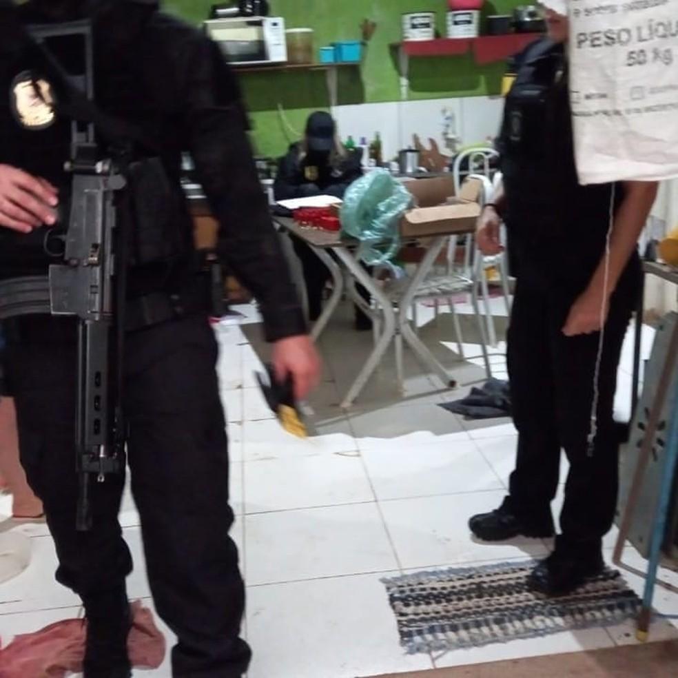 Operação foi feita para combater invasões de terras em Rondônia — Foto: PC-RO/Reprodução