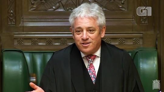 Conheça John Bercow, o presidente da Câmara do Reino Unido que pede 'ordem' nas sessões sobre o Brexit