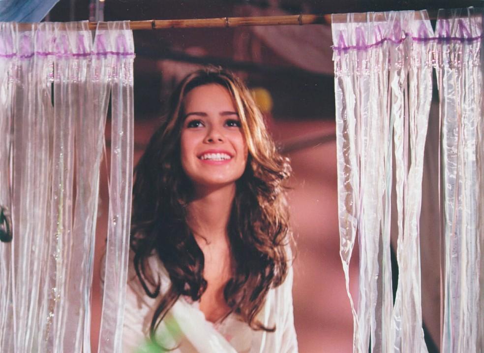 Sandy foi a protagonista da novela 'Estrela Guia' — Foto: Acervo/TV Globo