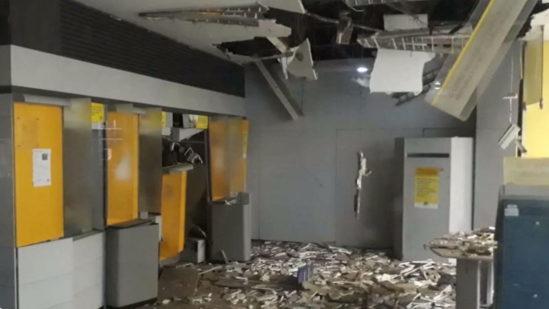 Usando máscaras 'contra coronavírus', bandidos explodem agência bancária em Pindaré-Mirim