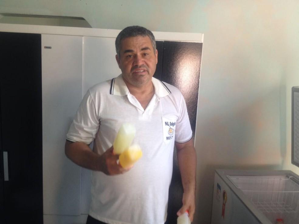 Leonardo diz que queria o dinheiro para comprar um gás de cozinha (Foto: Valdivan Veloso/G1)