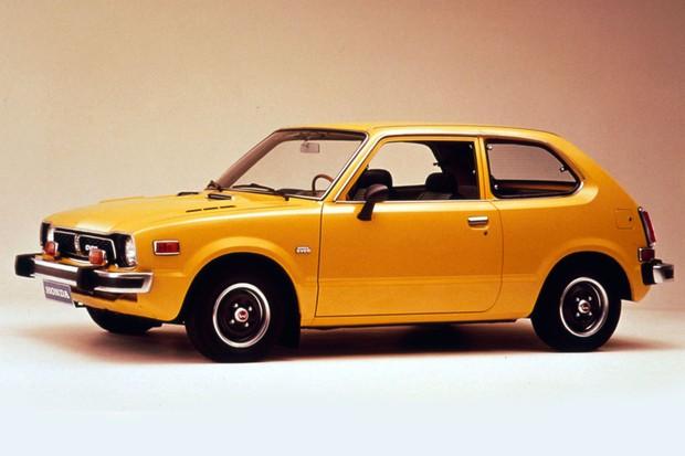 Primeiro Civic serviu de inspiração para o estilo retrô do EV (Foto: Divulgação)