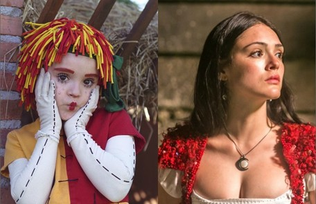 Isabelle Drummond ganhou destaque na TV ainda criança como Emília, do 'Sítio do picapau amarelo'. Na quarentena, ela voltou ao ar com sua personagem de 'Novo mundo' Divulgação/TV Globo