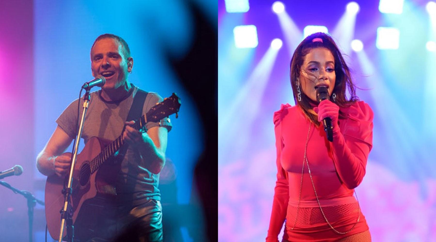 Líder do Belle & Sebastian manda mensagem a Anitta, fã da banda: 'Posso escrever música pra você?'