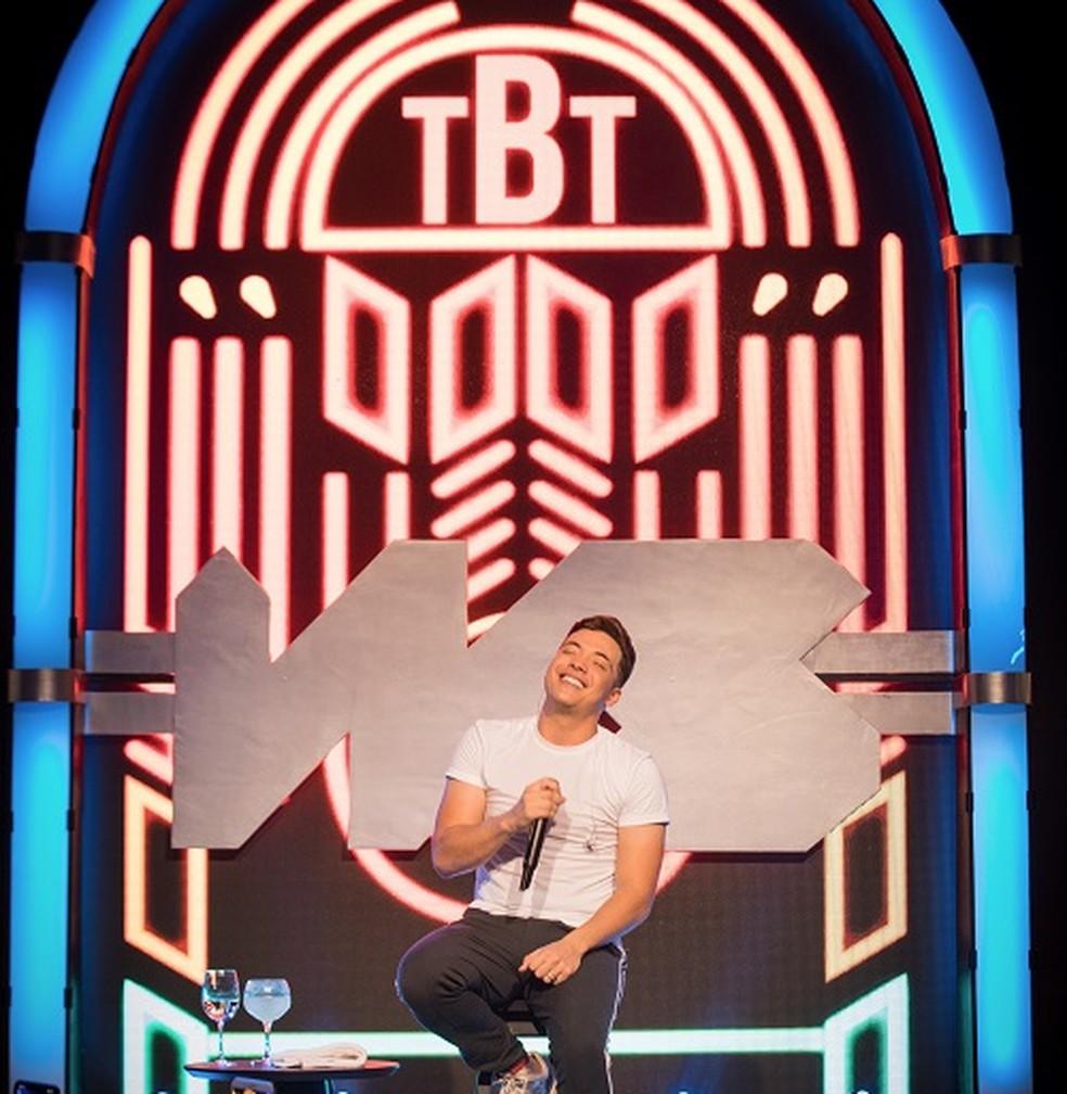Capa de 'TBT', DVD de Wesley Safadão — Foto: Ederson Lima