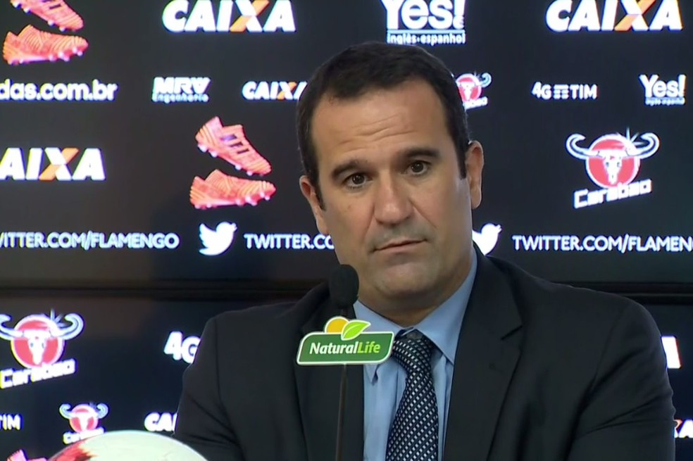 Ricardo Lomba Flamengo (Foto: Reprodução/SporTV)