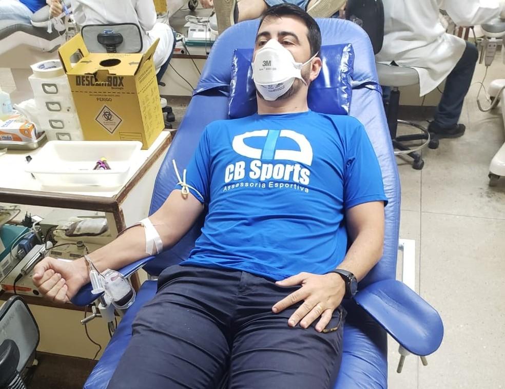 """Campanha """"Atletas pela Vida"""" reforça importância da doação de sangue — Foto: Divulgação"""