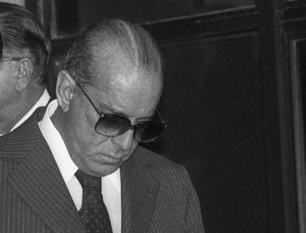 O então presidente João Figueiredo, em 1981