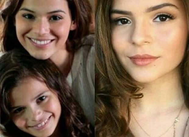 Luana Marquezine posta foto com a irmãe e impressiona pela semelhança  (Foto: Reprodução/Instagram)