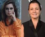 Adriana Esteves viveu a protagonista Lúcia Helena na fase adulta. 23 anos depois, ela é uma das estrelas de 'Amor de mãe', que foi interrompida pela pandemia e voltará ao ar em 2021 | TV Globo
