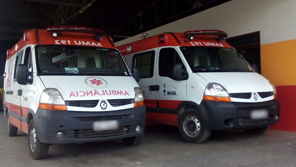 Ambulâncias do serviço em Campina Grande atende também aos distritos e às cidades circunvizinhas (Foto: Felipe Valentim/TV Paraíba/Arquivo)