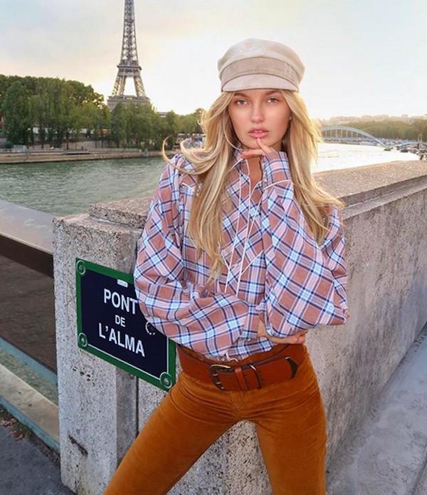 A modelo holandesa Romee Strijd (Foto: Instagram)