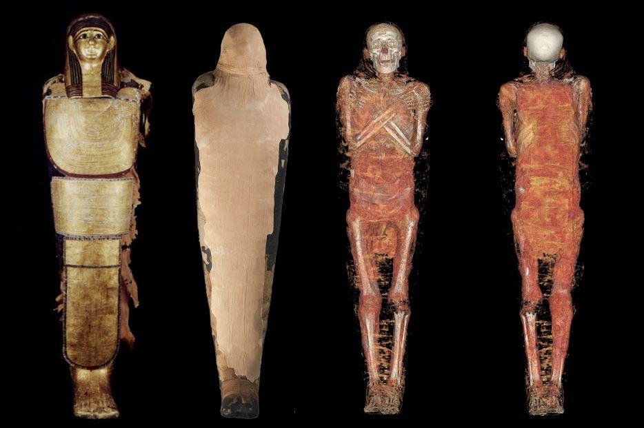 Nespamedu (Foto: Divulgação/Museu Arqueológico Nacional de Madrid (MAN))