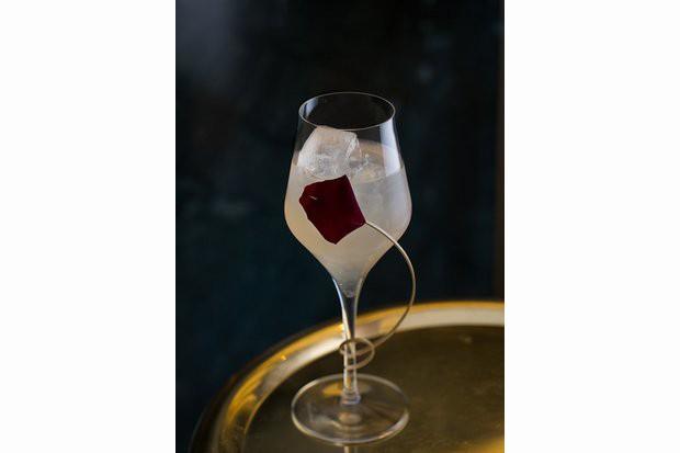 Vitruvian Rose Spritz, drink influenciado pela sequência de Fibonacci (Foto: divulgação)