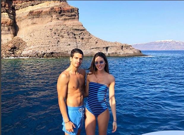 Enzo e Victoria Grendene (Foto: Reprodução/Instagram)
