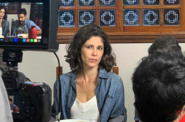 Juliana Martins na série 'Floresta week — Área restrita', do SBT  (Foto: Divulgação)