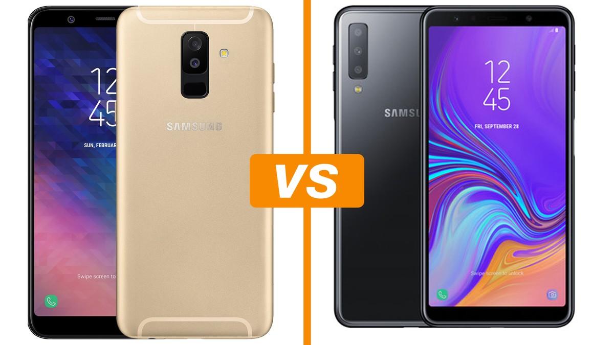 b55dd35fa0 Galaxy A7 (2018) x Galaxy A6 Plus  o que muda entre os celulares Samsung