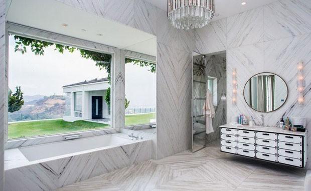 A casa de Gwen Stefani em Beverly Hills (Foto: Reprodução)