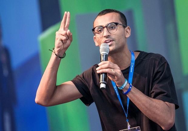 Eduardo Lyra, fundador do Instituto Gerando Falcões e um dos participantes do FICE 2018 (Foto: Keiny Andrade/Divulgação)