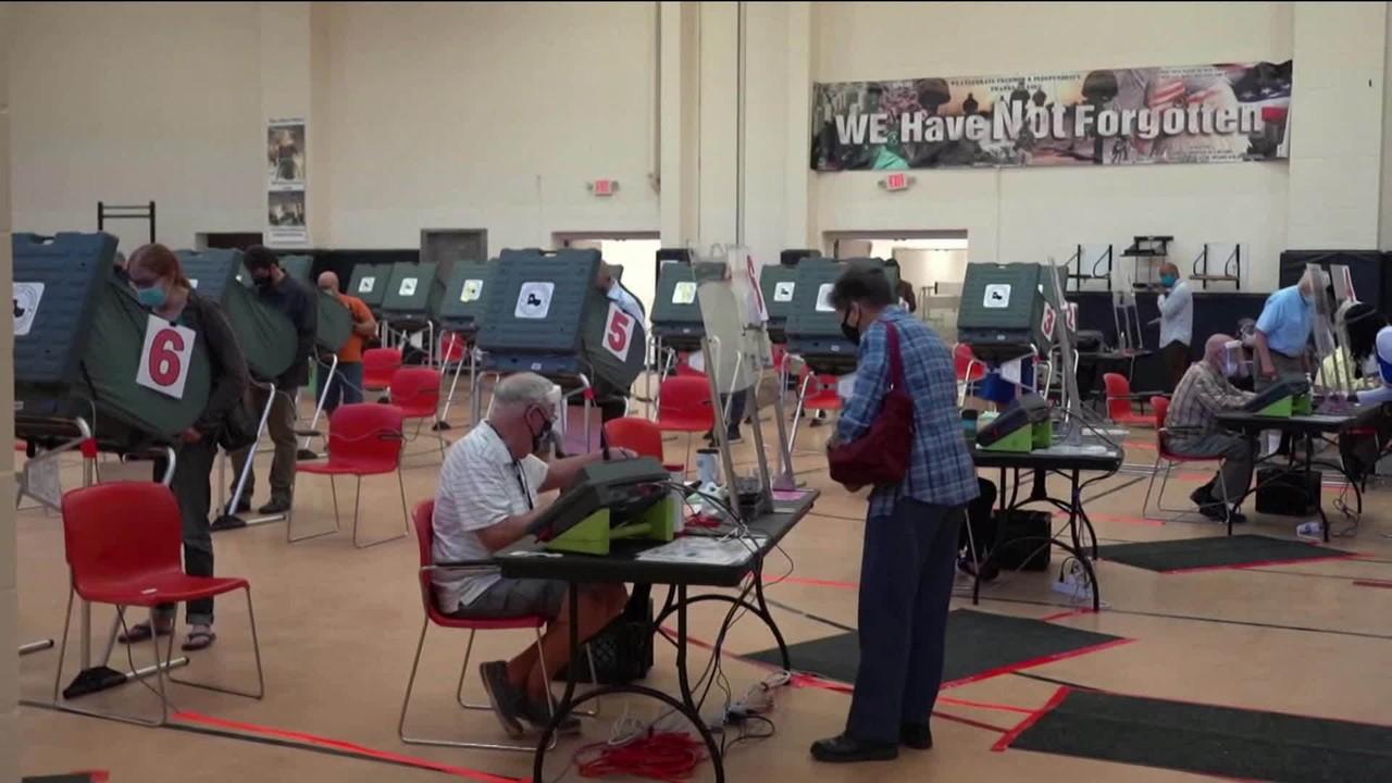Eleições EUA: votos antecipados batem recorde em vários estados