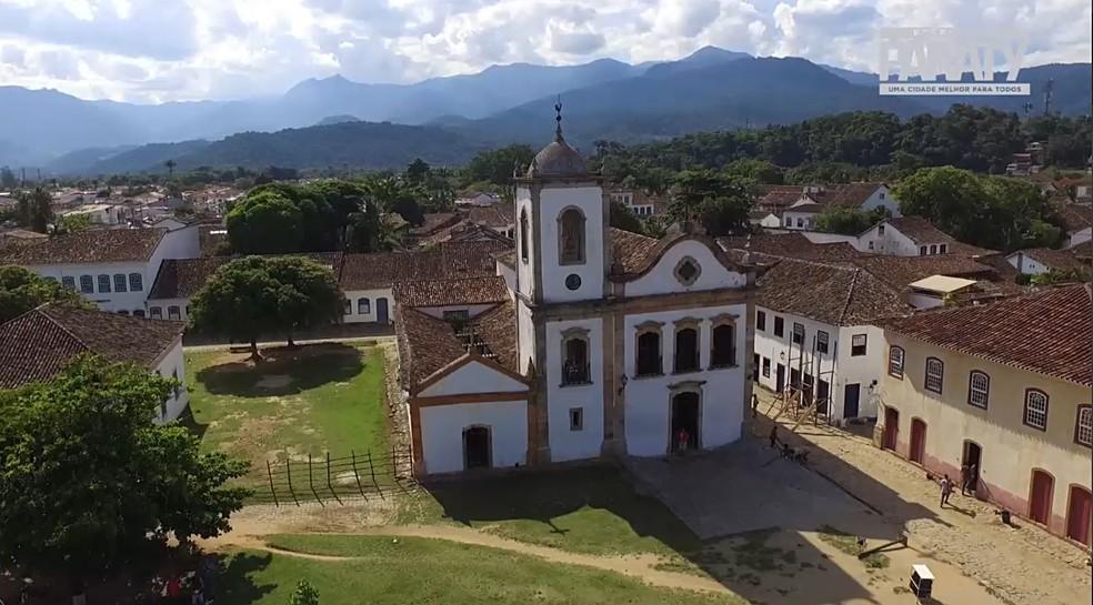 Igreja — Foto: Prefeitura de Paraty