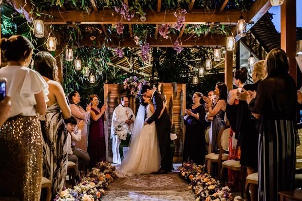 O décor do casamento de Geovanna Tomenaga (Foto: Divulgação)