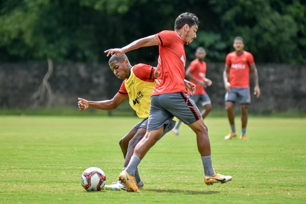 Vitória encara o Jacuipense para entrar no G-4 do Campeonato Baiano — Foto: Pietro Carpi/EC Vitória