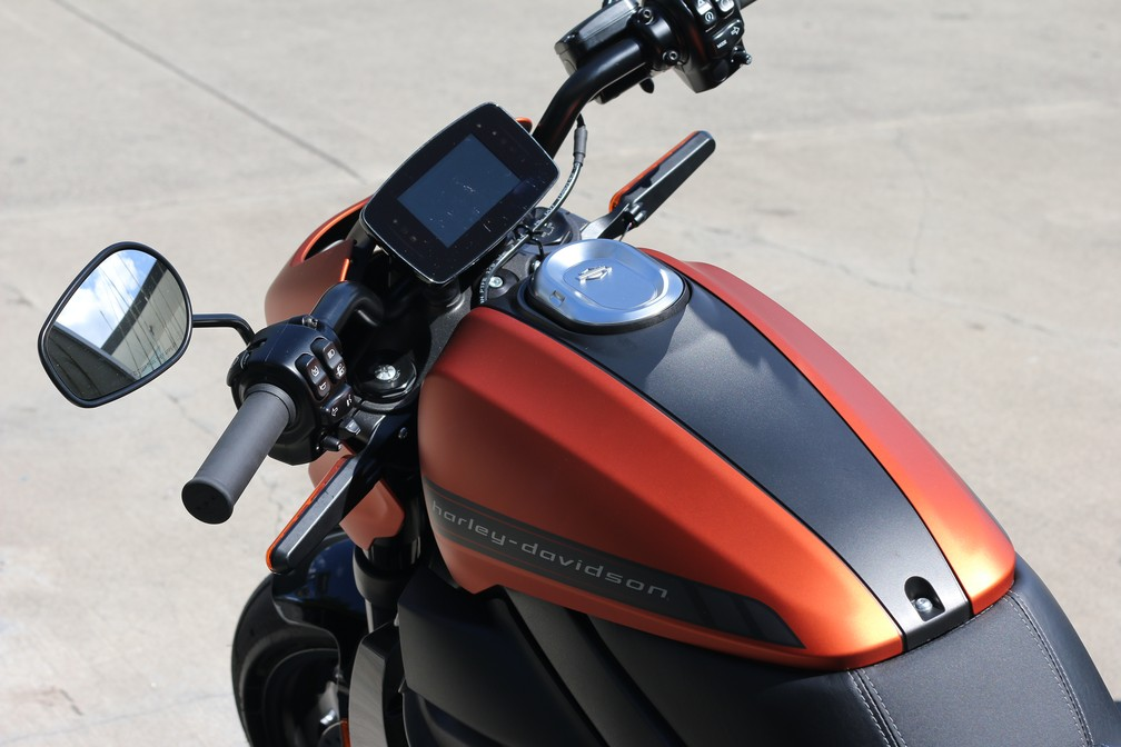 Harley-Davidson LiveWire â?? Foto: Rafael Miotto/G1