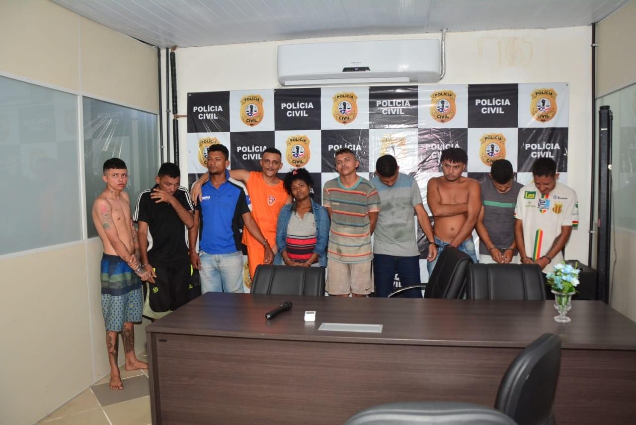 Dez pessoas são presas durante operação policial em São Luís  - Notícias - Plantão Diário