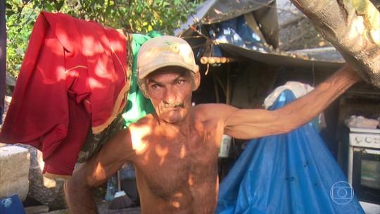 Globo Repórter visita brasileiro que vive há 55 anos em ilha deserta
