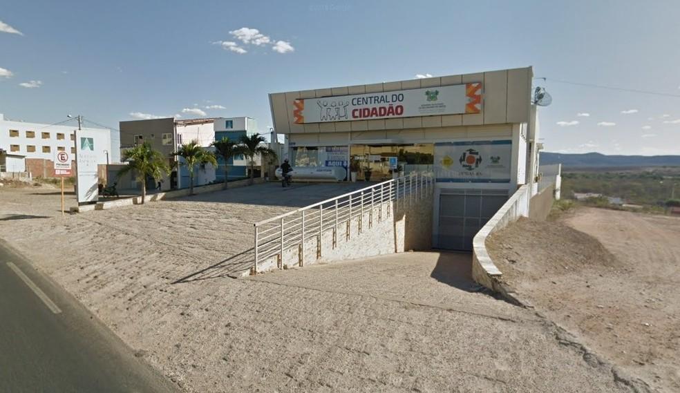 Sede da Central do Cidadão em Pau dos Ferros — Foto: Google