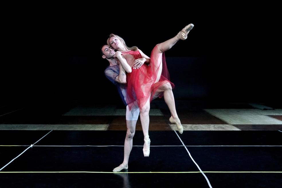 """Bailarinos ensaiam espetáculo """"Dançando Athos"""" — Foto: Nityama/Divulgação"""