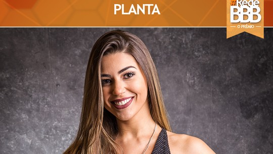 Vivian leva o Prêmio Planta #RedeBBB