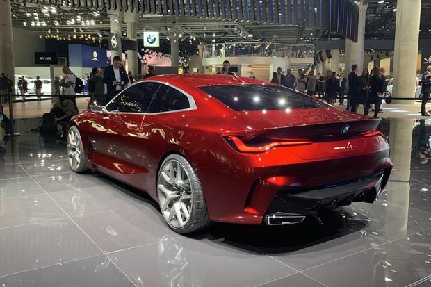 BMW Concept 4 (Foto: Raphael Panaro / Autoesporte)