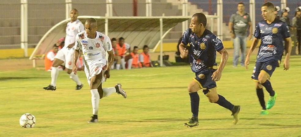 União Rondonópolis recebe a Aparecidense, partida foi válida pela primeira fase Série D do Campeonato Brasileiro (Foto: Emerson Dourado/Futebol MT)