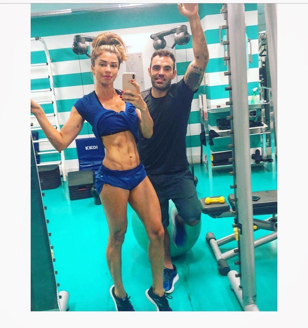 Grazi Massafera e o personal Chico Salgado (Foto: Reprodução / Instagram)