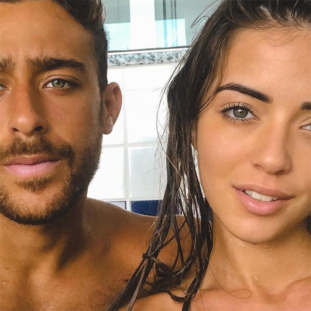 Anna Rita Cerqueira e Raphael Machado  (Foto: Reprodução/Instagram)