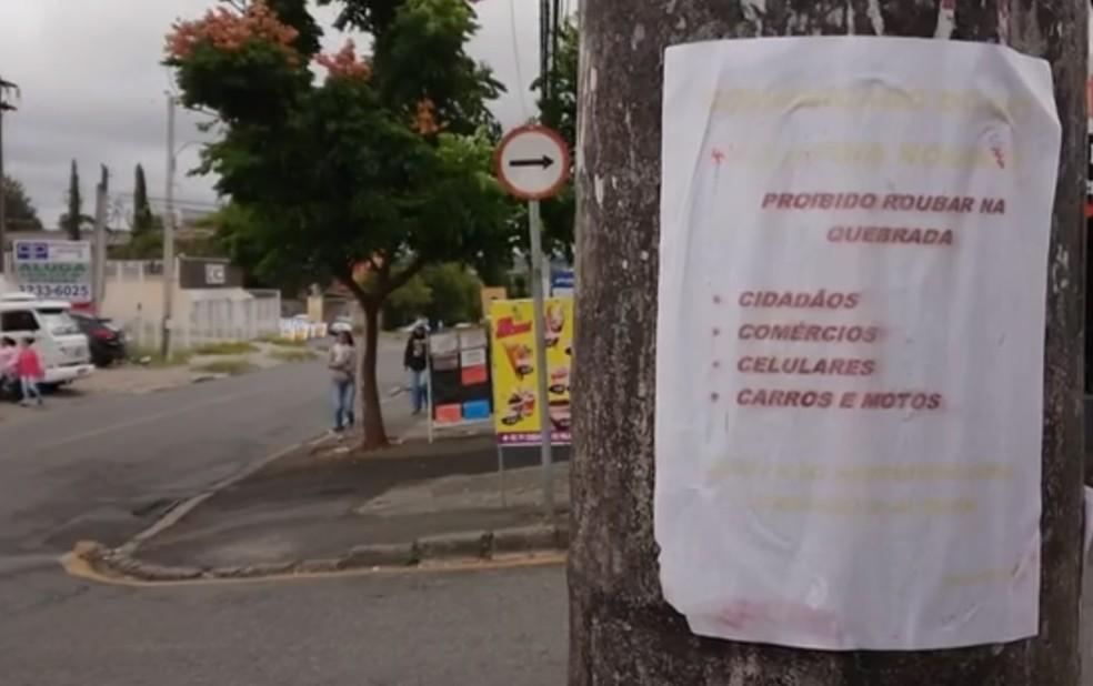 A CIC, que tem cerca de 180 mil moradores, é o maior bairro de Curitiba. (Foto: RPC/Reprodução)